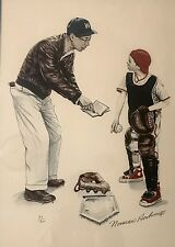 Norman Rockwell Signed/Number Collection (39/200) signed in pencil 26x20