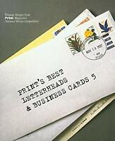 Designers' Handbook of Letterheads and Business Cards Hardcover Karen Chambers