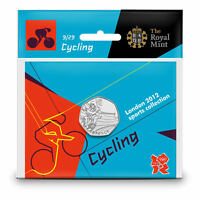 London 2012 Olympic 50p Coin Pack Royal Mint Sealed Perfect Uncirculated
