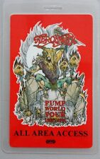 1989-91 Aerosmith Laminated Backstage Pass Large All Access