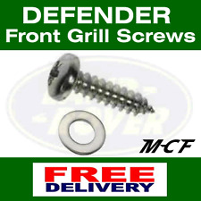 Land Rover Defender Grille Stainless Steel Screw and Washer Set Kit