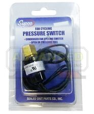 Supco SFC150225 Pressure Switch - Condenser Fan Cycling Open 150 Close 225
