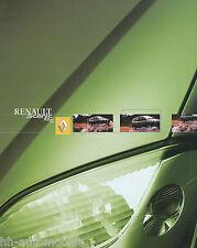 2136REN Renault Scenic RX4 Prospekt 2001 6/01 spanische Ausgabe brochure catalog