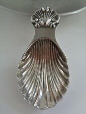 Solid Silver Caddy Spoon - Birmingham 1969 - S. J. Rose & Son