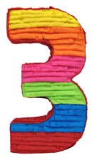 NUMBER 3 BIRTHDAY AGE PINATA BIRTHDAY OR PARTY GAME/ DECORATION