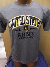 Mens Licensed US Army JBLM-Lewis Shirt New Size Large Benefits US Veterans