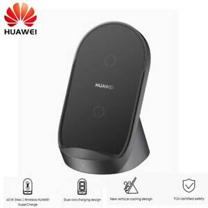 Huawei 40W Wireless Charger Charging Stand For Mate 40 P40 Pro iPhone 12 S20 S10