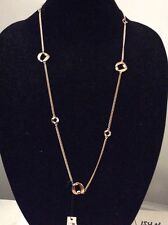 MARC JACOBS Cable Link Long Necklace $98 Gold Tone MJ18