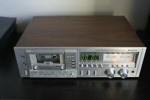 Vintage! Sanyo Micro Processor Stereo Cassette Deck Model RD 5372, Tested!