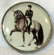Fine Art Horse Snap Horse Rider Dressage Piaffe 18-20Mm Some With Bubbles! gift