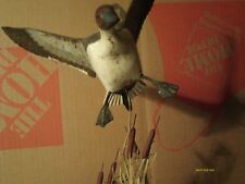 Clarence T. Sanders 1982 Duck Jumped and Flying Decoy