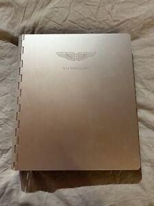 Manuel D'utilisation Aston Martin Vanquish