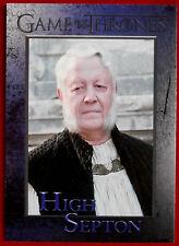 GAME OF THRONES - Season 5 - Card #77 - HIGH SEPTON - Rittenhouse 2016