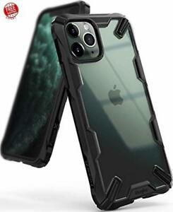 Case For iPhone 11 Pro Hard Clear Back Shockproof Heavy Duty Bumper Cover Black