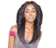 "BS602 - Isis Brown Sugar Human Hair Style Mix Silk Lace Wig 4""X4"" Lace Front"