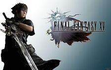 Final Fantasy XV Episode Duscae Demo Bonus DLC Download Code PS4 PlayStation 4
