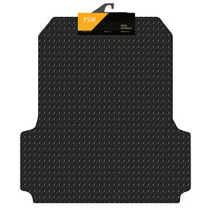 Ford Ranger 2019-On Double Cab Rear Liner Fitted Tailored 3mm Rubber Boot Mat