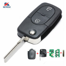 Full Set Remote key Fob 2 Button 433MHz 4D0 837 231 R for Audi A3 A4 A6 Quattro