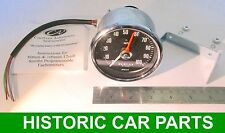 "REV COUNTER Tachometer - 3¼""  (80mm) dia 10,000rpm suit 1-12 cyl and Diesel eng"