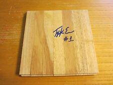 Tyreke Evans Autographed 6X6 Floorboard Nba Basketball New Orleans Pelicans