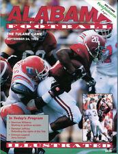 1994 Alabama Tide v Tulane Football Program Sherman Williams Ex 18321