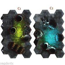 BaC03 PLATEAU C (C1 RECTO - C2 VERSO) WARHAMMER 40000 BITZ W40K HORUS HERESY BaC