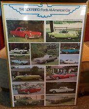 Thunderbird: Ford's All-American Car (1976) Automobile Quarterly Car Poster