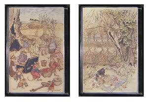 Fridge Magnet Wind in the Willows Arthur Rackham choice of 2  gift