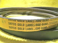 ***NEW*** DAYCO GOLD LABEL COG BAND BX136 ACCESSORY DRIVE BELT