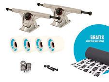 RAM Setup Achsen Trucks Rollen Longboard Skateboard inkl. Gratis Griptape