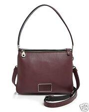 NWT $398 MARC By MARC JACOBS Ligero Shoulder Bag Cardamon/Black/Silver M0007629