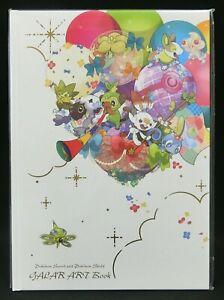 Pokemon: Sword and Shield Galar Art Book Pokemon Center Japanese