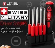 Genuine SWISS MILITARY Mini Screwdriver Mixed 8P Set Number Hi Technology Tool