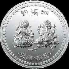 250 GRAMS 999 SILVER MMTC-PAMP LAKSHMI GANESH  COIN ( IN CAPSULE )