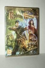 ROBIN HOOD GIOCO NUOVO SIGILLATO PC DVD VERSIONE ITALIANA RS2 45550