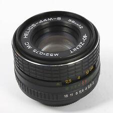 HELIOS 44M-5 58mm F2 MC lens for M42 fit - unusual swirly bokeh lens