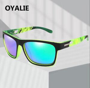 Men Women Polarized Sport Sunglasses Outdoor Riding Driving Square Glasses New