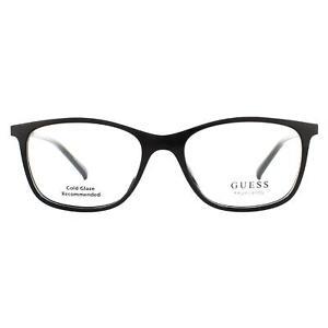 Guess Glasses Frames GU3004 001 Shiny Black Men Women