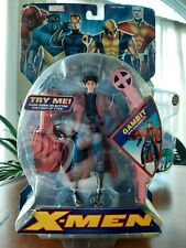 """Marvel Legends Gambit With Disc Shooter Toy Biz 6"""" Tall ( 2005)"""
