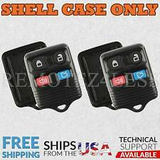 2 for Ford Lincoln Mercury Mazda Keyless Remote Car Entry Key Fob Shell Case 4b