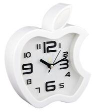 Table Clock Wall Clock with Alarm Apple Shape
