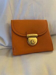 Salvatore Ferragamo Orange Wallets For Women For Sale Ebay