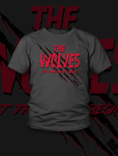 The Wolves NEW T-Shirt Mens XL EXTRA LARGE WWE ROH TNA NXT Impact Wrestling NJPW