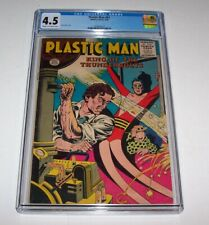 Plastic Man #61 - 1956 Quality Comics Silver Age Issue - CGC VG+ 4.5