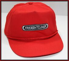 Freightliner Baseball Cap Red Snapback Trucker Hat Cloth Embroidered