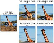 4-Pcs Close-Up Macro Lens Set +1 +2 +4 +10 For Fujifilm X-Pro1 X Pro1