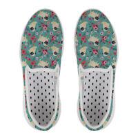 Pug Dog Aqua Shoes Casual Womens Beach Swim Water Slip On Comfy Surf  Barefoot