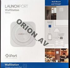iPort Launchport White Wallstation Wall Mount and Charger 70142 Brand New