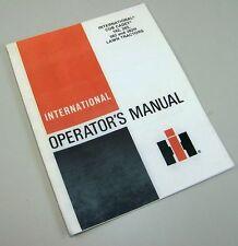 INTERNATIONAL CUB CADET TRACTOR 182 282 382 382H OPERATORS OWNERS MANUAL MOWER
