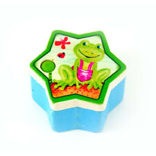 """Hess 14167 Tooth box """"Frosch"""" Wood box a star Tooth fairy box new! #"""